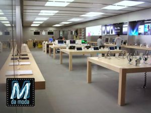 Loja da Apple Store.