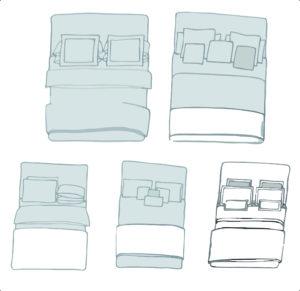 como arrumar cama de exposição passo a passo 2
